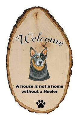 Outdoor Welcome Sign (TP) - Australian Cattle Dog 94072
