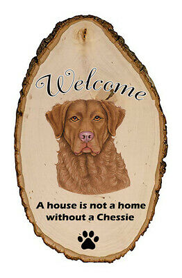 Outdoor Welcome Sign (TP) - Chesapeake Bay Retriever 94070