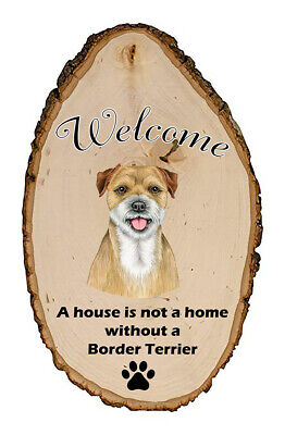 Outdoor Welcome Sign (TP) - Border Terrier 94122
