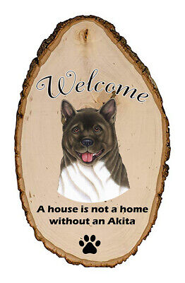 Outdoor Welcome Sign (TP) - Akita 94098
