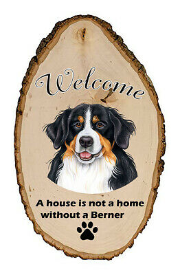 Outdoor Welcome Sign (TP) - Bernese Mountain Dog 94051
