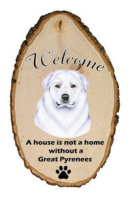 Outdoor Welcome Sign (TP) - Great Pyrenees 94146