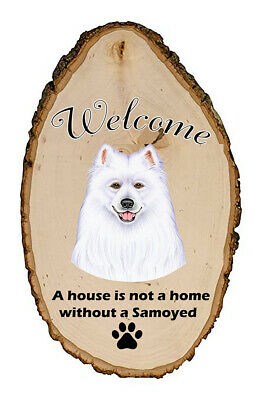 Outdoor Welcome Sign (TP) - Samoyed 94077