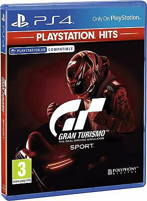 Gran Turismo - GT Sport For PS4 (New & Sealed)