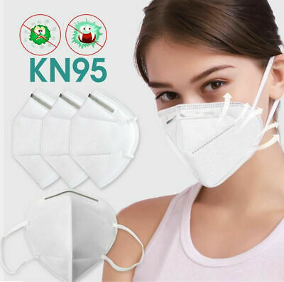 KN95 Personal Protection Face Mask Mouth & Nose - FFP2 CE Certified - 5 Pack