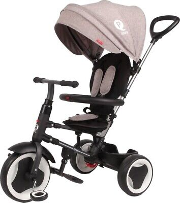 Tricycle QPlay rito deluxe junior noir/gris