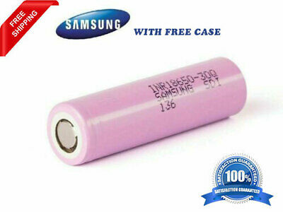 2X Samsung rechargeable battery 18650, 3000mah 3.6V