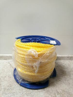 Brand Name 350240-YEL-00600-R0296 3/4 In Dia 600 Ft L Yellow Gen Utility Rope