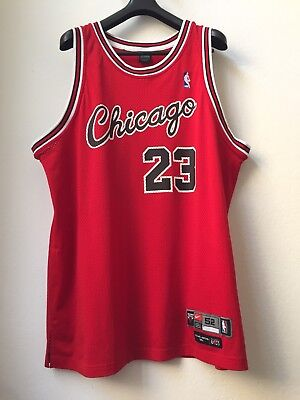 1984-85 Nike Michael Jordan Chicago Bulls Rookie Authentic Commemorative Jersey