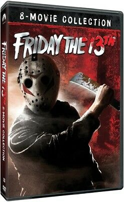 FRIDAY THE 13th - 8 movie collection - DVD - Sealed Region 1