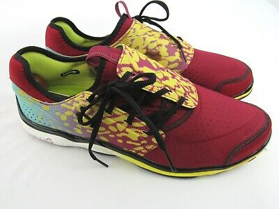 Under Armour Micro G Red/Blue/Yellow Rare Frog Running Toxic MPZ USA Size 13