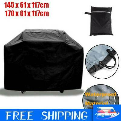 Heavy Duty BBQ Cover Waterproof Barbecue Grill Protector Outdoor 145/170CM UK HM