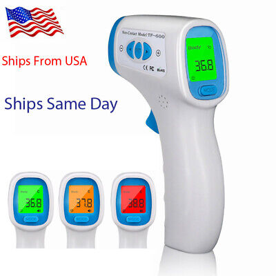 Medical NON-CONTACT Digital Forehead Body Inferred IR Thermometer FDA✔ CE✔  USA