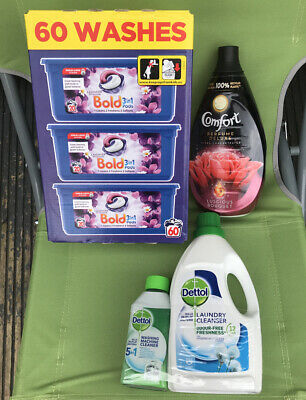Bold Comfort Dettol Mega🌈😊💝Washing Fabrics Freshners Washing Machine Cleaner