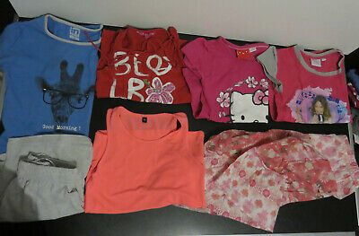 Lot J de 7 vêtements Fille 8 - 10  ans - Printemps Eté