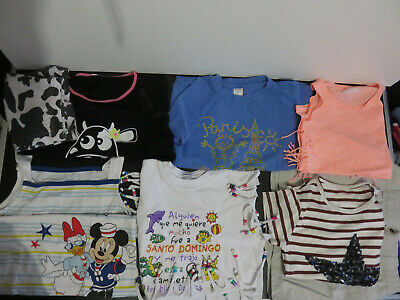 Lot D de 8 vêtements Fille 8 - 10 - 12 ans - Printemps Eté