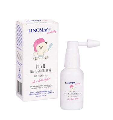 LINOMAG Cradle Cap Liquid for Babies from Birth 30ml Plyn na ciemieniuche