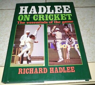 Hadlee on Cricket - the Essentials of the Game by Richard Hadlee - Clean Hardbac