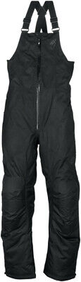 Arctiva Womens Pivot Insulated Snowmobile Pants Snow Bibs Black M