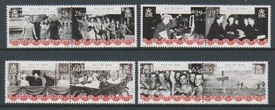Isle of Man - 2005, End of WWII set - MNH - SG 1208/15