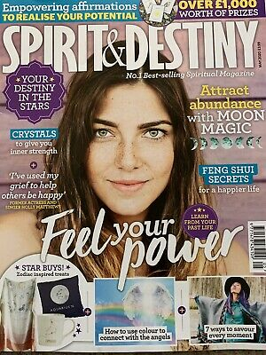 SPIRIT & DESTINY May 2020 magazine moon magic crystal feng shui angels