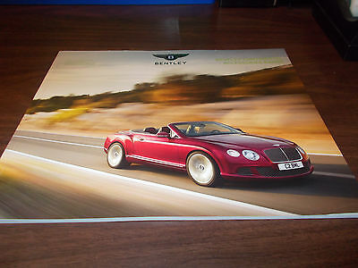 2015 Bentley Continental Accessories Large  56-page Catalog