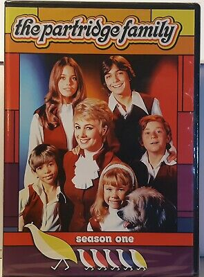 The Partridge Family The Complete First Season (DVD, 2014, 2-Disc Set) Brand New