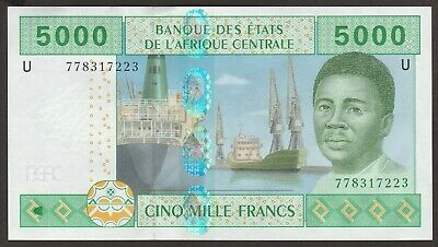 Ch UNC Central African States CAMEROON 5000 Francs P-209Ue / B109Ue  sig 26/12 3