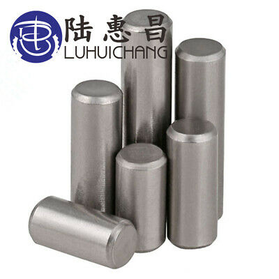 LUCHANG 304 Stainless Steel Round Cylinder Solid Straight Retaining Dowel Rod