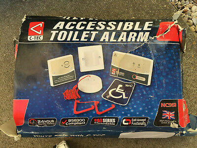 C-Tec Accessible Disabled Persons Toilet Alarm Kit - NC951 800 Series