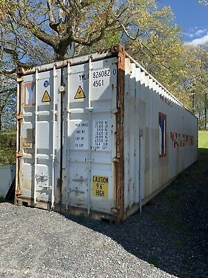 Shipping Container For Sale/40ft/High Cube- Breaker Box with 5 outlets Installed
