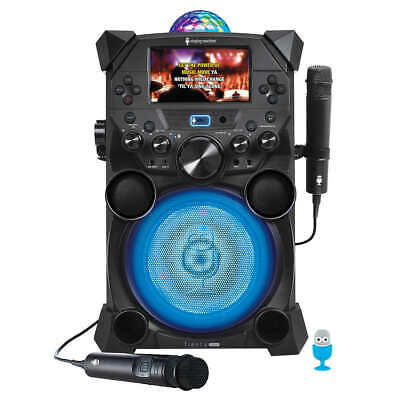 Portable Karaoke System Bluetooth and Rechargeable with LCD Monitor  (SDL9040)