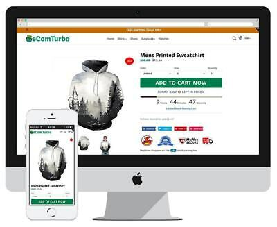 ECOM-TURBO  PREMIUM Responsive Highest Converting Shopify store