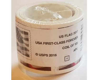 2017 US Forever Stamps - Roll of 100 - ***FREE SHIPPING***