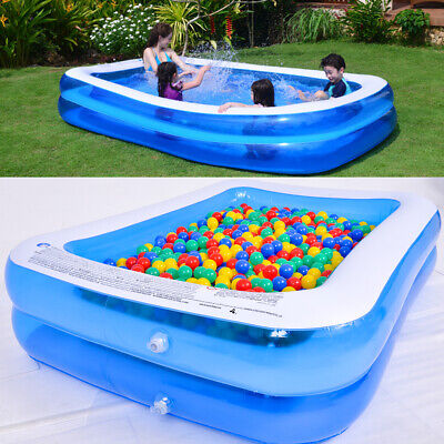 Outdoor Summer Large Family Swimming Pool Garden Inflatable Kids Paddling Pools