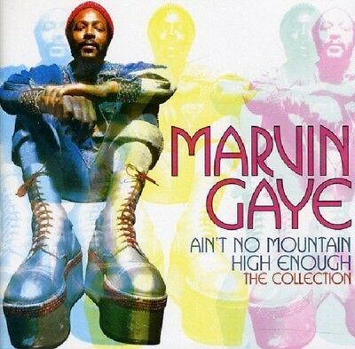 Marvin Gaye Ain't No Mountain High Enough-The Collection CD NEW SEALED Soul
