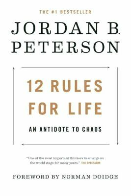12 Rules for Life: An Antidote to Chaos Hardcover – January 23, 2018-NEW.
