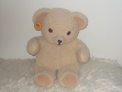 "Snuggle Teddy Bear 15"" Plush Russ 1985 Lever Brothers Fabric Softener"