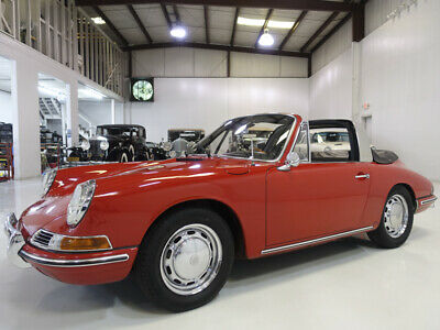 1967 Porsche 912 Soft-Window Targa | Wonderfully Restored 1967 Porsche 912 Soft-Window Targa | 3rd example built in 1967 | 5-Speed Manual