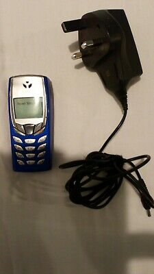 Used vintage  nokia 8210 Blue working was on Orange with charger WORKING .