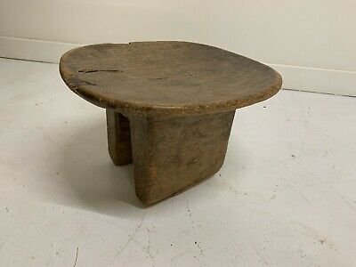 Vintage Hand Carved Stool from Nigera
