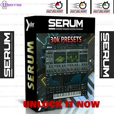 xFer Serum VST 25gb+ Presets Libraries Ultimate Collection