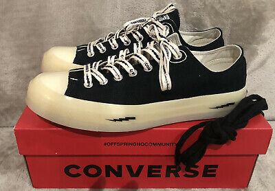 Converse Offspring Chuck Taylor 70s All Star Ox Black Size Uk 9 Great Condition