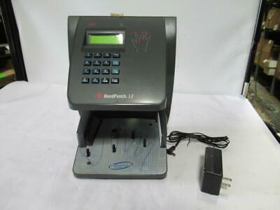 ADP HP-2000 Hand Punch LE Recognition Systems w/ Power Adapter, Key