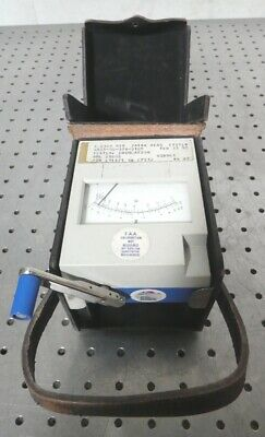 R167920 Megger James Biddle Hand Crank Insulation Resistance Ohm Meter 21805-0