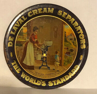 Nice De Laval Cream Separators Advertising Tip Tray