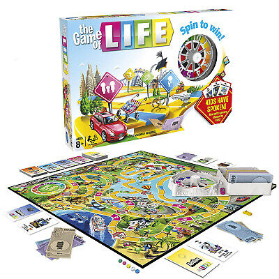 The Game of Life Board Game Home Children Kids Card Family Party Games *