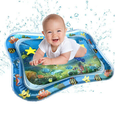 Inflatable Baby Water Mat Fun Activity Play Cushion Pad For Children Infant Gift