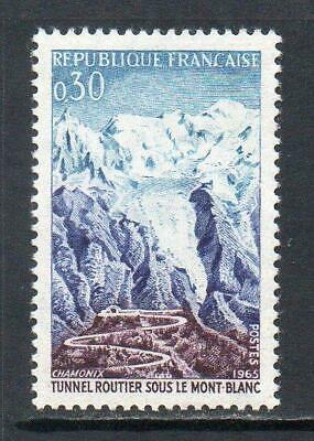 France Mnh 1965 Sg1689 Opening Of Mont Blanc Road Tunnel