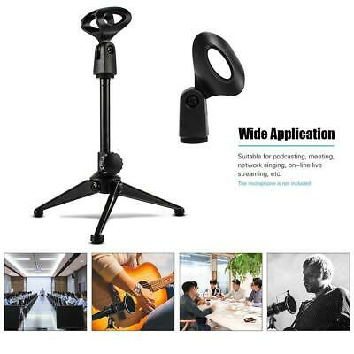 Tiger Straight Microphone Stand with Tripod Base - Adjustable Mic Stand Plastic